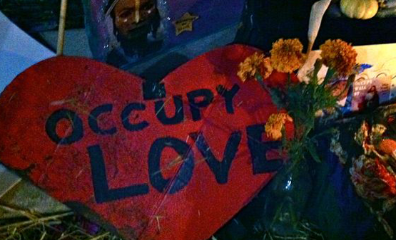 Occupy Wall Street—The Revolution Is Love